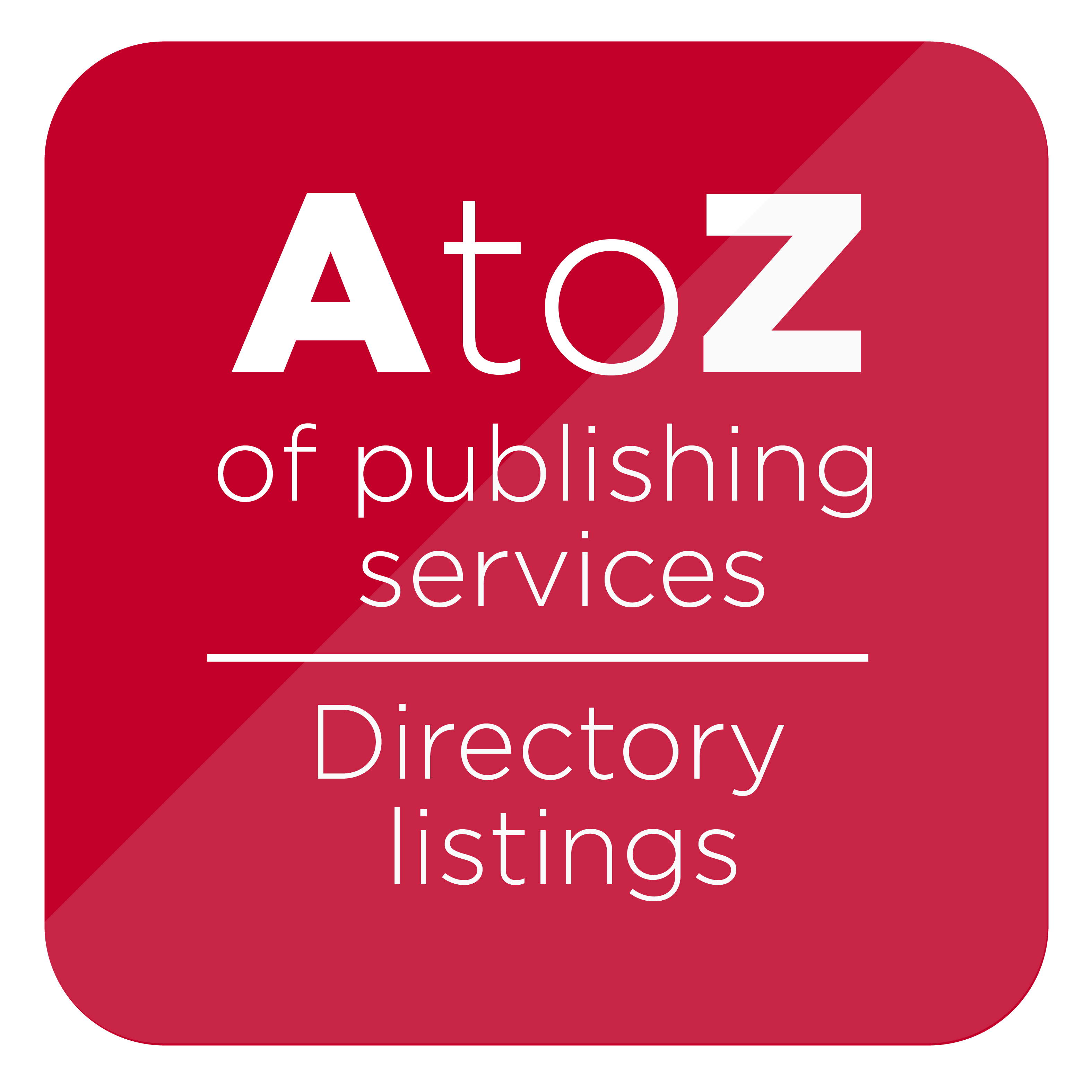 Publishers' Services Directory entry (1 year)